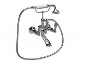 CRYSTAL LEVER BATH SHOWER MIXER SJ#321.514