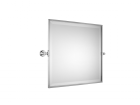 Style Moderne Framed bevelled tilting mirror