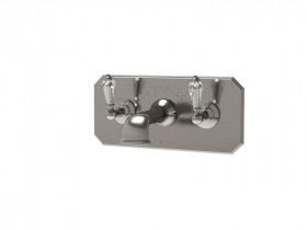CRYSTAL LEVER BATH SHOWER MIXER SJ#376.514