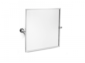 Fairfield framed bevelled tilting mirror - N9560
