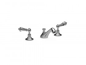 CRYSTAL LEVER 3 HOLE BASIN MIXER SJ#400.514
