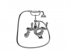 CRYSTAL LEVER BATH SHOWER MIXER SJ#350.514