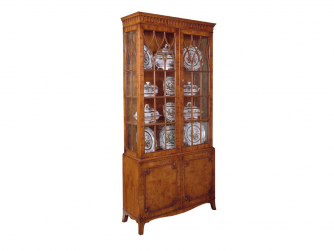 Titchmarsh & Goodwin Yew Display Cabinet