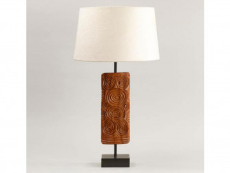 Vaughan Ashanti Wooden Table Lamp