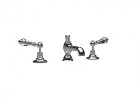 CRYSTAL LEVER 3 HOLE BASIN MIXER SJ#402.514