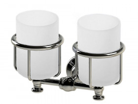 Elegant Wall Mounted Double Tumbler Holder