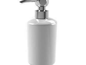 Elegant Soap Dispenserin Ceramic