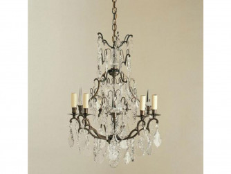 Vaughan Kington Cage Chandelier 6 Light