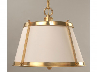 Vaughan Belluno Brass Hanging Shade