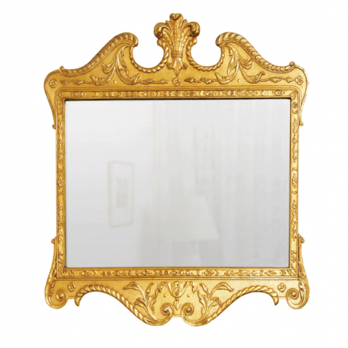 Titchmarsh & Goodwin Walnut Gilt Landscape Mirror