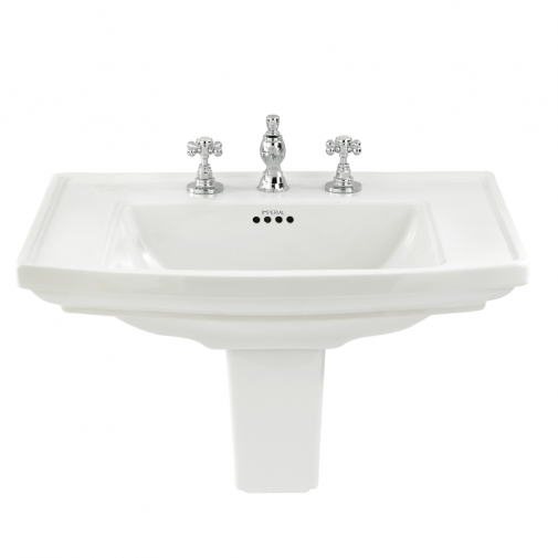 Radcliffe Large basin semi pedestal