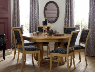 Royal Oak Knightsbridge Berkeley Dining Table