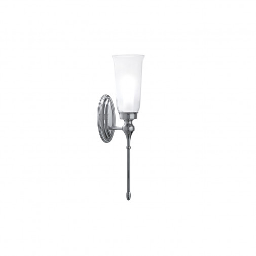 Westminster pendant light with glass shade and bulb