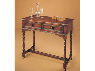 R. E. H. Kennedy Hall Table Two Drawer Hall Table