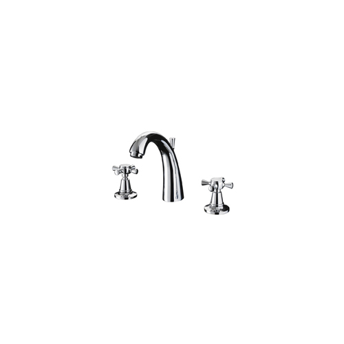 Cisne 3-hole basin mixer kit