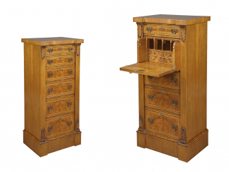 Bevan Funnell Secretaire Wellington Chest