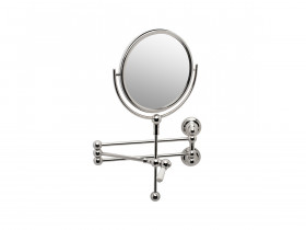 SEJA01-6918WG EVELYN Wall Mounted Shaving Mirror White Gold