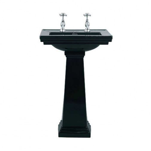 ASTORIA DECO BLACK Small Basin 520mm