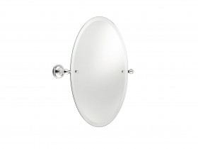 SJ606 Oval mirror and brackets 540x370mm Зеркало овальное