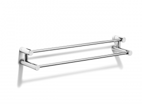 Xenon double standard length towel rail