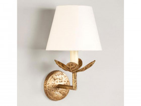 Vaughan Carrick Leaf Wall Light