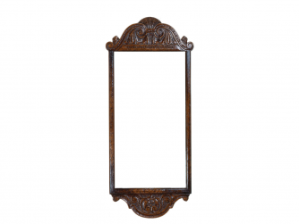Titchmarsh & Goodwin English Oak Carved Pier Mirror
