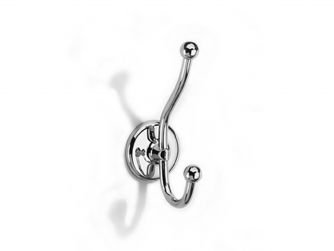 Novis Double robe hook - N1039