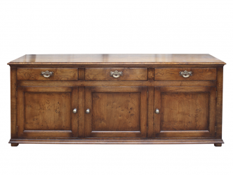 Titchmarsh & Goodwin Character English Oak Dresser Base
