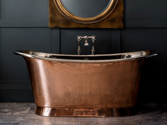 Catchpole&Rye THE COPPER BATEU WITH NICKEL INTERIOR