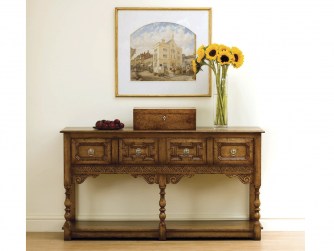 Titchmarsh & Goodwin English Oak Dresser Base