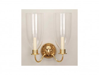 Vaughan Lion Head Storm Wall Light