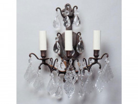 Vaughan Cluny Crystal Wall Light