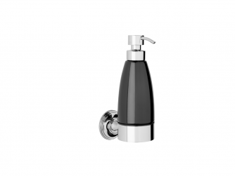 Style Moderne Liquid soap dispenser - black
