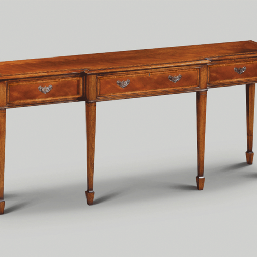 Iain James Serving Table