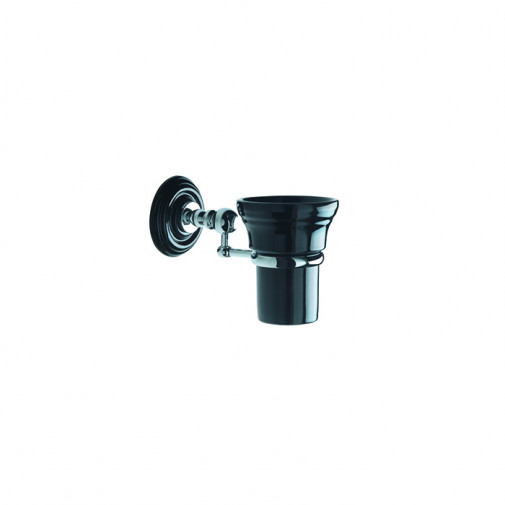Oxford Wall mounted tumbler Black