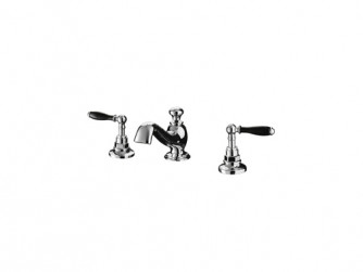 Notte 3-hole basin mixer kit