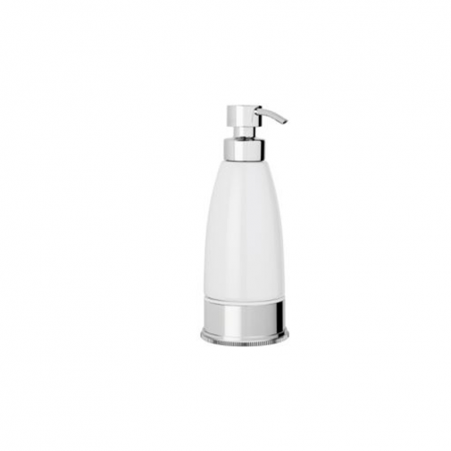 Style Moderne freestanding liquid soap dispenser -white