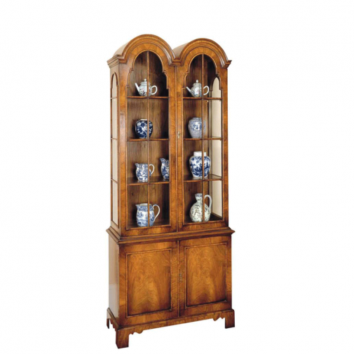Titchmarsh & Goodwin Walnut Display Cabinet
