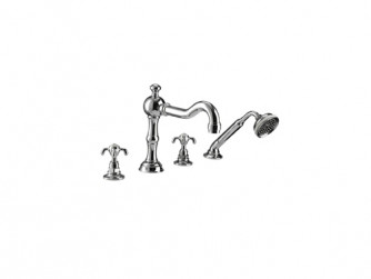 Lierre 4-hole bath filler kit