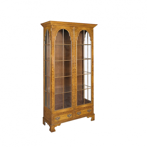 Bevan Funnell Glazed Curio Cabinet