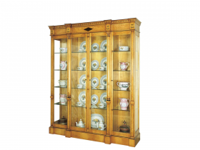 Titchmarsh & Goodwin Karelian Birch Display Cabinet