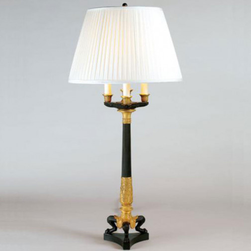 Vaughan Tripod Candelabrum Table Lamp