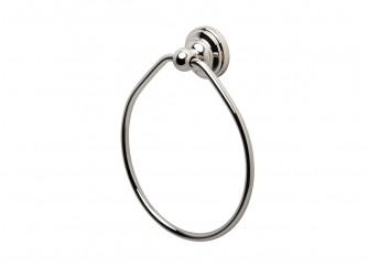 SEJA01-6935WG EVELYN Towel Ring 150mm White Gold