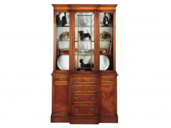 Bevan Funnell Display Cabinet with glass shelves