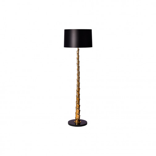 Casano gold floor lamp