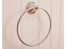 R8 Circular Towel Ring 180mm