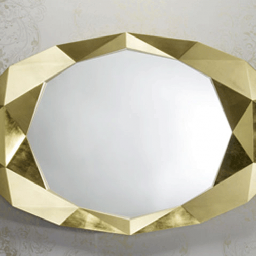 Tindle Silver/Gold Framed Mirror