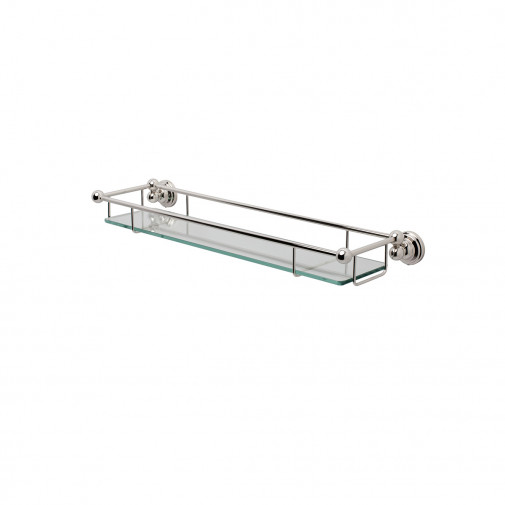 SEJA01-6953WG EVELYN Glass Shelf White Gold
